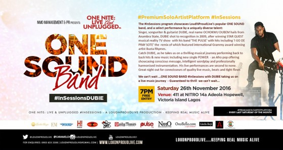 One Nite Live & Unplugged: One Sound Band