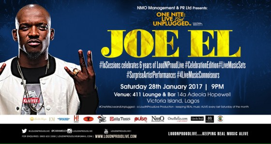 ONE NITE: Live & UNPLUGGED #InSessions with JOE EL #LiveMusicSet