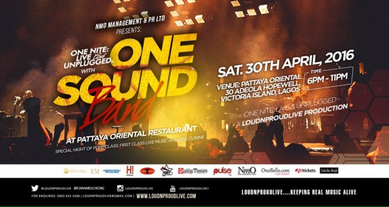 One Nite: Live & Unplugged with LoudNProudLive's ONE SOUND band