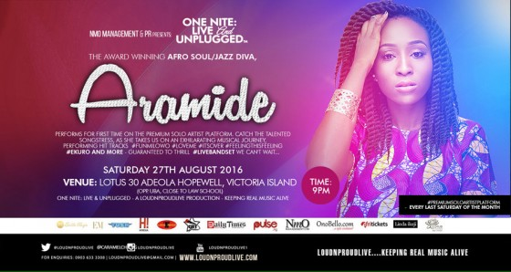 ONE NITE: LIVE & UNPLUGGED with ARAMIDE