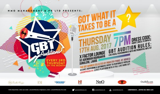 GBT Auditions #August