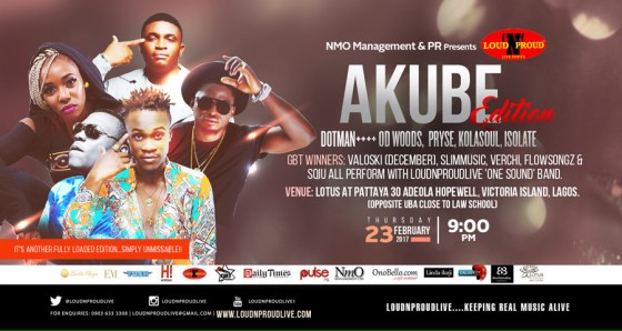 LoudNProudLive Series: AKUBE Edition