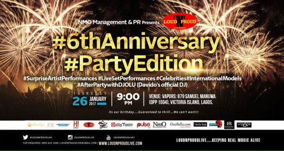 LoudNProudLive 6th Anniversary #PartyEdition